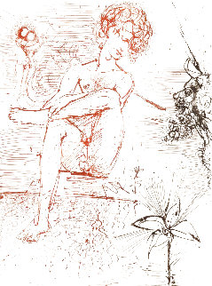 Narcissus 1963 (Early) Limited Edition Print - Salvador Dali