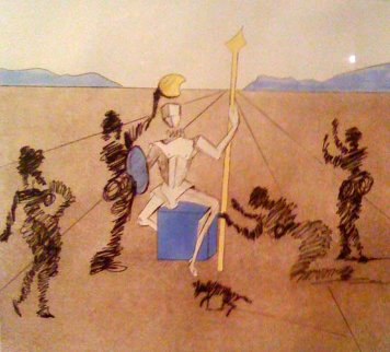 Eternal Time or The Golden Helmet  Limited Edition Print - Salvador Dali