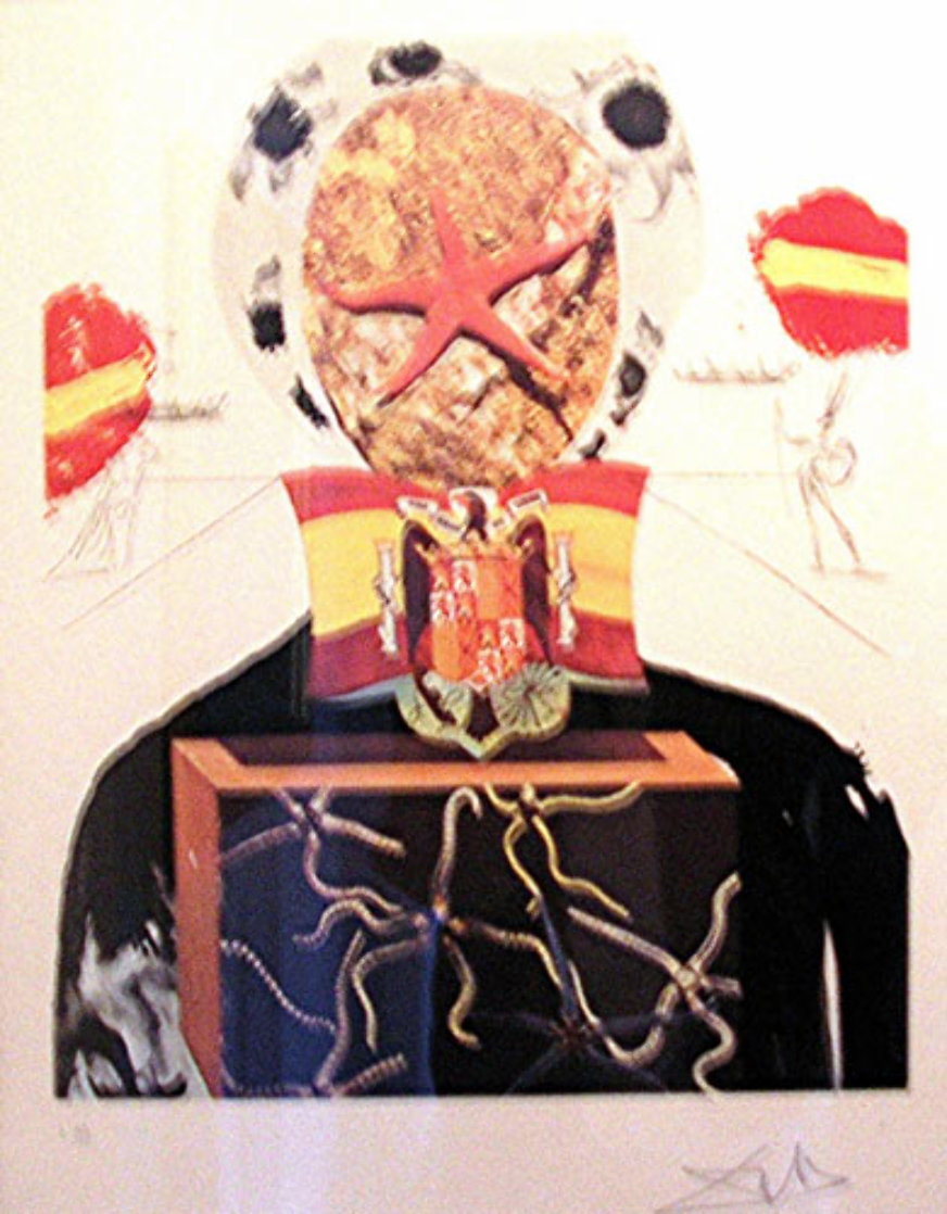 Surrealist King 1971 Limited Edition Print by Salvador Dali
