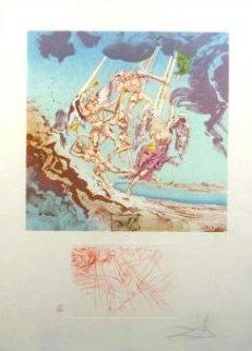 Return of Ulysses AP 1977 Limited Edition Print - Salvador Dali