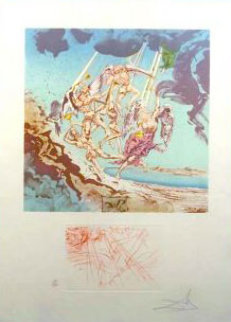 Return of Ulysses AP 1977 Limited Edition Print by Salvador Dali
