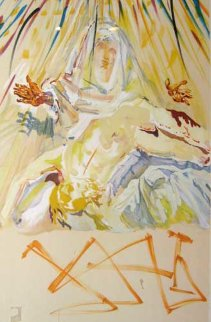 Dali's Pieta (La Pieta Nera) Black Madonna 1978 Limited Edition Print - Salvador Dali