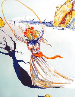 Transcendent Passage 1979 Limited Edition Print - Salvador Dali