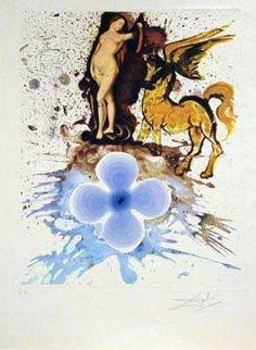 Homage a Cranach 1971 Limited Edition Print - Salvador Dali