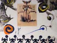 Memories of Surrealism: Surrealist Gastronomy 1971 (Early) Limited Edition Print by Salvador Dali - 2