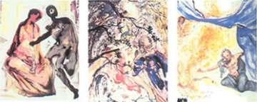 Les Amoureux Suite of 3 1978 Limited Edition Print by Salvador Dali