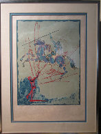 Joan of Arc 1977 Limited Edition Print by Salvador Dali - 2