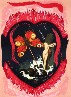 Le Triomphe De L'amour 1977 Limited Edition Print by Salvador Dali
