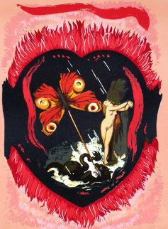 Le Triomphe De L'amour 1977 Limited Edition Print - Salvador Dali