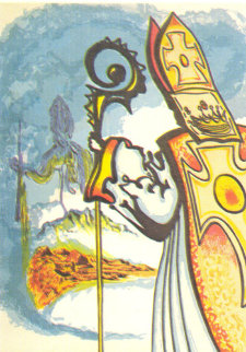 Ivanhoe Suite (Set of 4) 1977 Limited Edition Print by Salvador Dali
