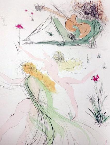 La Joie De Vivre 1971 Limited Edition Print by Salvador Dali