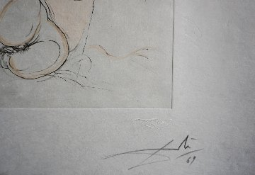 Le Repos Du Guerrier 1969 (Early) Limited Edition Print by Salvador Dali