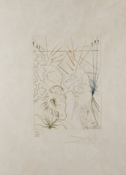 Shakespeare II the Merry Wives of Windsor 1971 Limited Edition Print by Salvador Dali