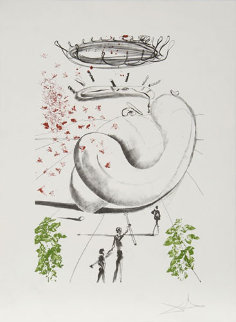 Colibri Suite of 2 1973 Limited Edition Print - Salvador Dali