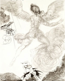 Mythology Icarus 1963 (early) Limited Edition Print - Salvador Dali