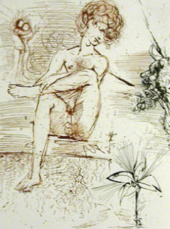 Mythology Narcissus 1963 (early) Limited Edition Print by Salvador Dali