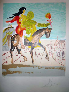New Jerusalem Suite of 2  1980 Limited Edition Print - Salvador Dali
