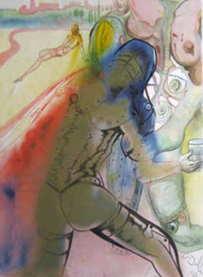 Death of Clorinda 1969 (Early) Limited Edition Print by Salvador Dali