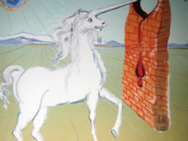 Agony of Love The Unicorn 1978 Limited Edition Print by Salvador Dali