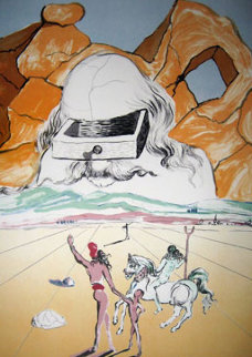 Path to Wisdom The Banker 1978 Limited Edition Print by Salvador Dali