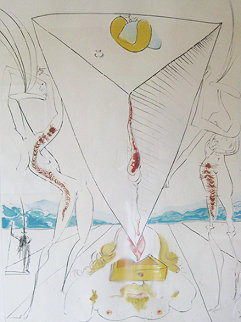 Philosophe Eevrase Par Le Cosmos 1965 (Early) Limited Edition Print - Salvador Dali