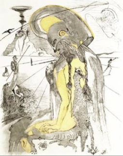 Athena 1963 (Early) Limited Edition Print by Salvador Dali