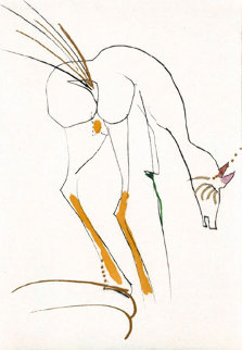 La Biche 1968 (Early) Limited Edition Print - Salvador Dali