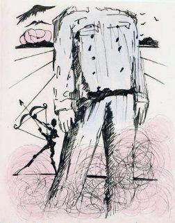 Le Buste De Mao 1967 (early) Limited Edition Print by Salvador Dali