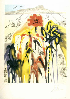 Diamond Head 1980 Limited Edition Print - Salvador Dali