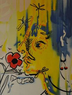 Fleurs Surrealistes Suite of 2 1980 Limited Edition Print by Salvador Dali
