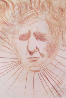Head of Ben Gurion (early) Limited Edition Print by Salvador Dali