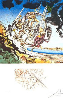 Return of Ulysses 1977 Limited Edition Print by Salvador Dali