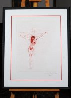 Christ (Sanguine) 1964 (Early) Limited Edition Print by Salvador Dali - 3