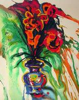 Fleurs Surrealistes Suite of 2 AP 1980 Limited Edition Print by Salvador Dali - 1