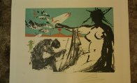 Peace in Vietnam, Liberation: Prisoners Are Free 1973 Limited Edition Print by Salvador Dali - 1