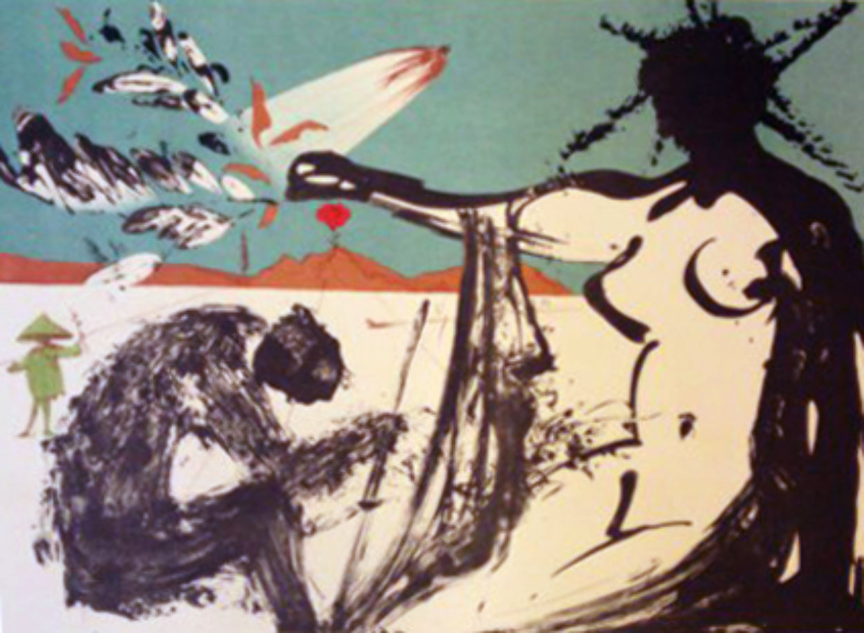 Peace in Vietnam, Liberation: Prisoners Are Free 1973 Limited Edition Print by Salvador Dali