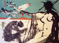 Peace in Vietnam, Liberation: Prisoners Are Free 1973 Limited Edition Print by Salvador Dali - 0