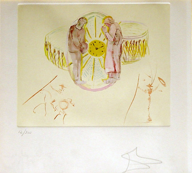Cycles of Life AP 1977 Limited Edition Print by Salvador Dali