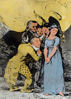 Los Caprichos  Limited Edition Print by Salvador Dali