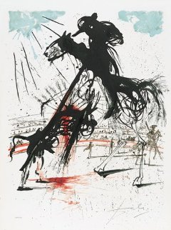 Bullfight Number 5 1966 (early) Limited Edition Print - Salvador Dali