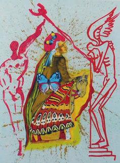 Pilgrim's Journey Limited Edition Print by Salvador Dali