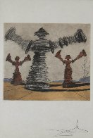 Spinning Man Limited Edition Print by Salvador Dali - 1