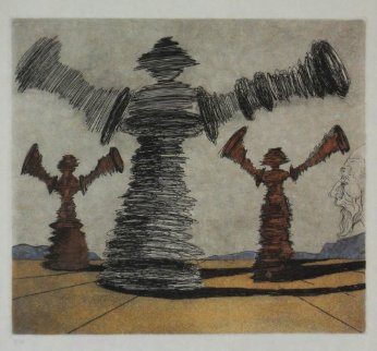 Spinning Man Limited Edition Print by Salvador Dali