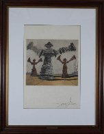 Spinning Man Limited Edition Print by Salvador Dali - 2