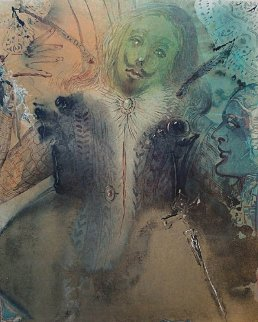Damis And Durval 1969 (early) Limited Edition Print - Salvador Dali