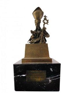 Saint Narcissus of the Flies Bronze Sculpture Sculpture by Salvador Dali