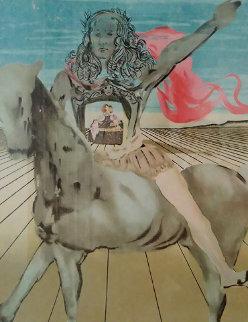Chevalier Surrealiste 1980 Limited Edition Print by Salvador Dali