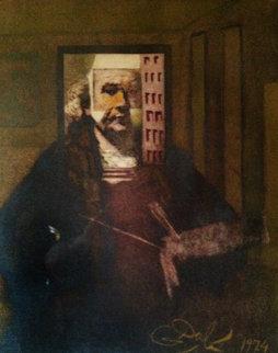 Self Portrait of Rembrandt (Portrait Du Peintre Par Lui Meme) 1974 Limited Edition Print by Salvador Dali