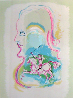 Dream of a Horseman AP Limited Edition Print - Salvador Dali