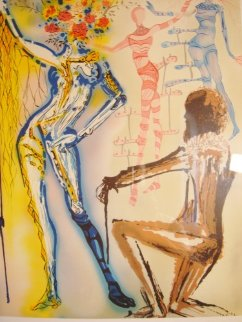 Fashion Designer 1980 Limited Edition Print by Salvador Dali